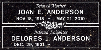 CF-5026 Galaxy Black Grave Marker Headstone Standard Engraving  Serving California