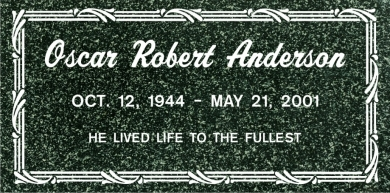 SF-1045 Hassan Green Grave Marker Headstone Standard Engraving  Serving California