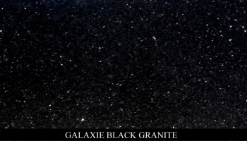Galaxy Black  Granite for Headstone Monuments and Grave Marker Memorials