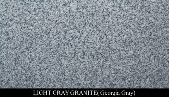Light Gray  Granite for Headstone Monuments and Grave Marker Memorials