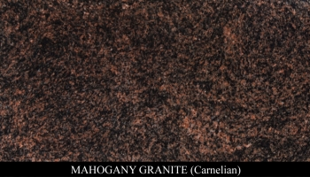 Mahogany Granite for Headstone Monuments and Grave Marker Memorials