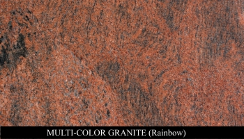 Multi-Color Granite for Headstone Monuments and Grave Marker Memorials