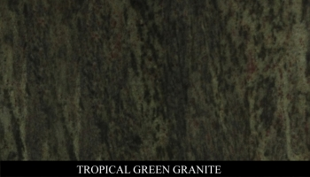 Tropical Green Granite for Headstone Monuments and Grave Marker Memorials