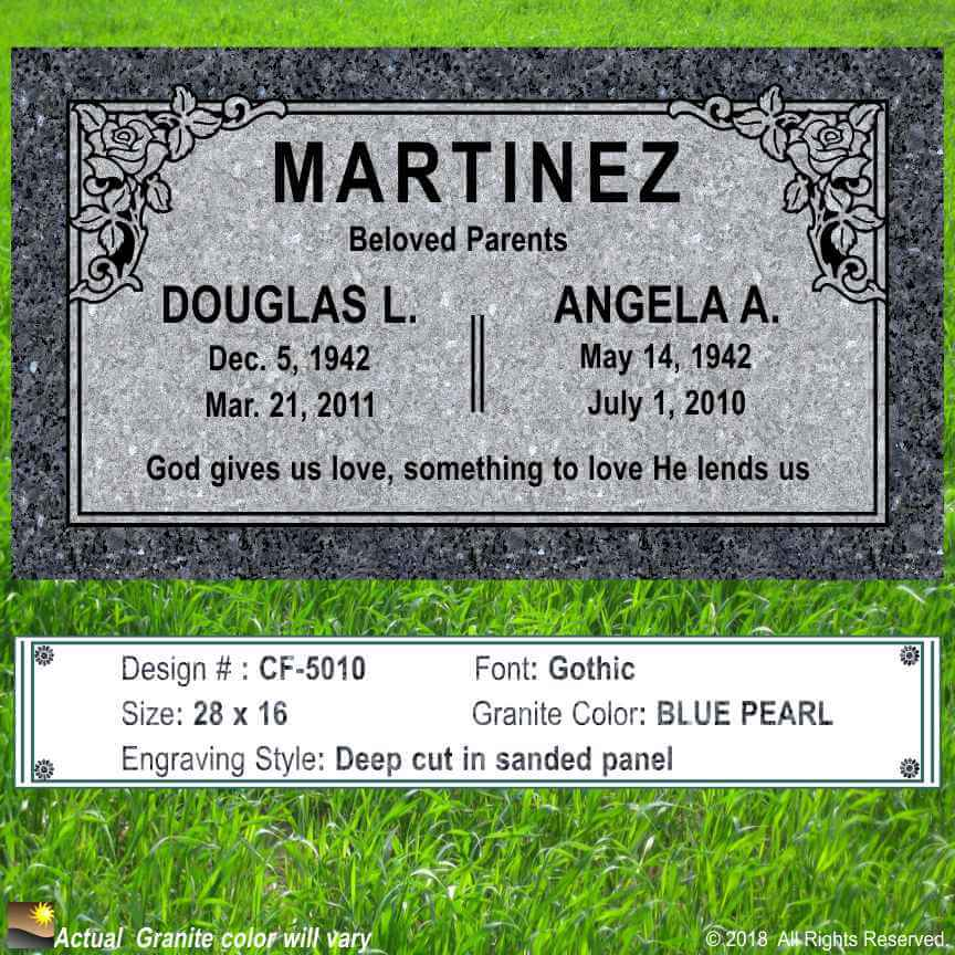 Granite-Memorial-Monument-Headstone
