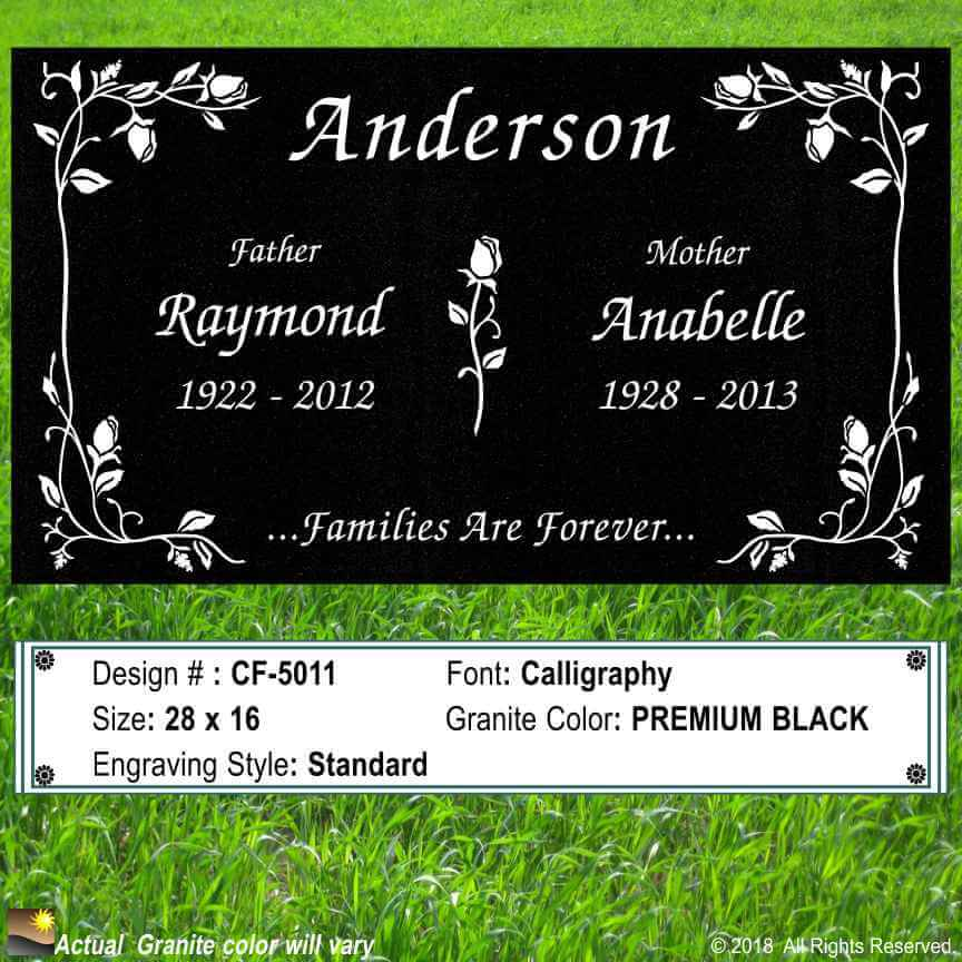 Companion Headstones Helping You Design A Personalize
