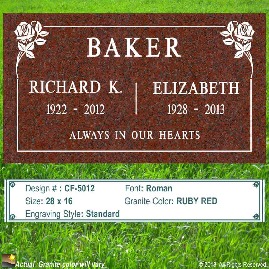 Companion Headstones Helping You To Design A